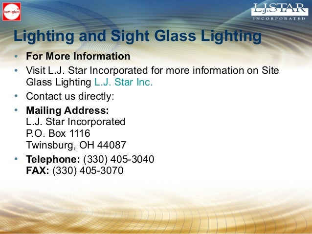 Everything You Wanted to Know about  Sight Glass Lighting