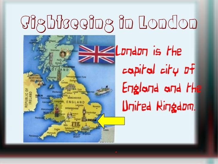 Sightseeing in london Slide 2