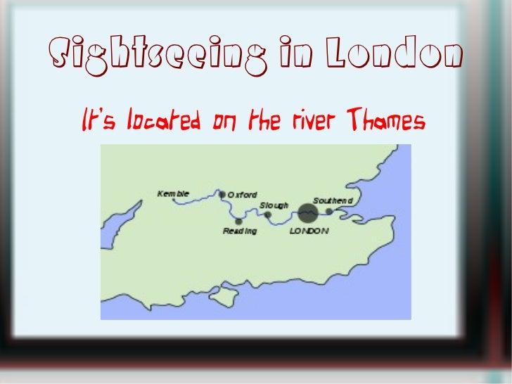 Sightseeing in london Slide 3