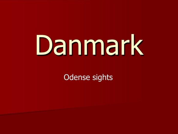 Danmark<br />Odense sights<br />