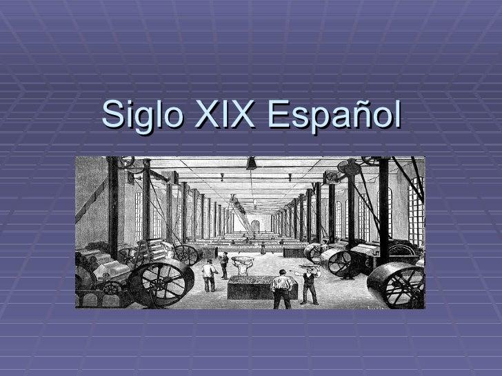 Siglo XIX Español