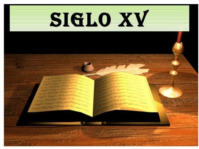 SIGLO XVSIGLO XV