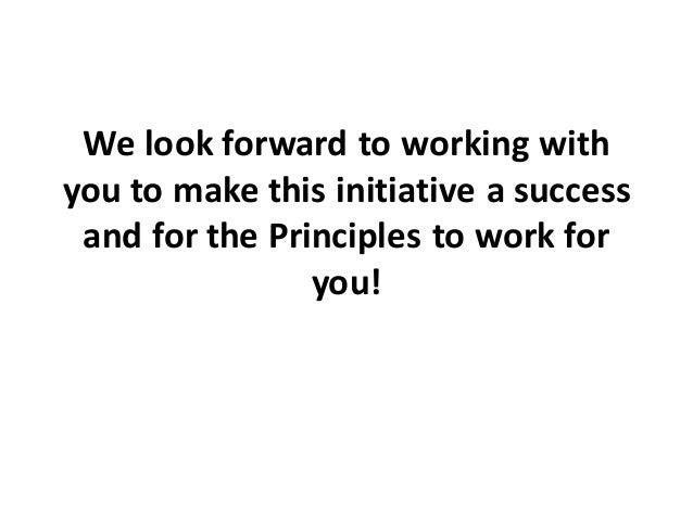 Presentation on Principles of Public Administration