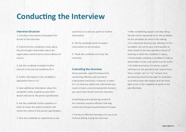 job interview hints