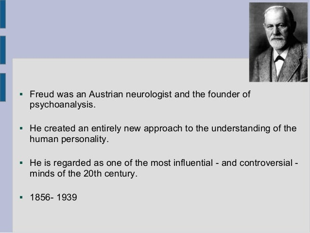 a paper on the contributions of dr sigmund freud Freud & anna and grandchildren in tegel, 1929 or 1930 | briehl film: freud & anna and grandchildren in tegel, 1929 or 1930 | sigmund freud--home movies the film opens with sigmund freud, martha freud, anna freud, and paulette laforgue, wife of the french psychoanalyst rené laforgue, standing on a balcony or terrace at lake grundlsee, austria.