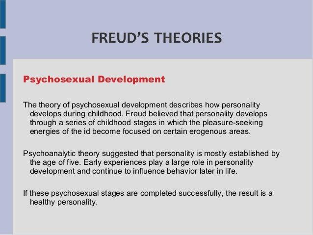 Freud theory of psychosexual development summary