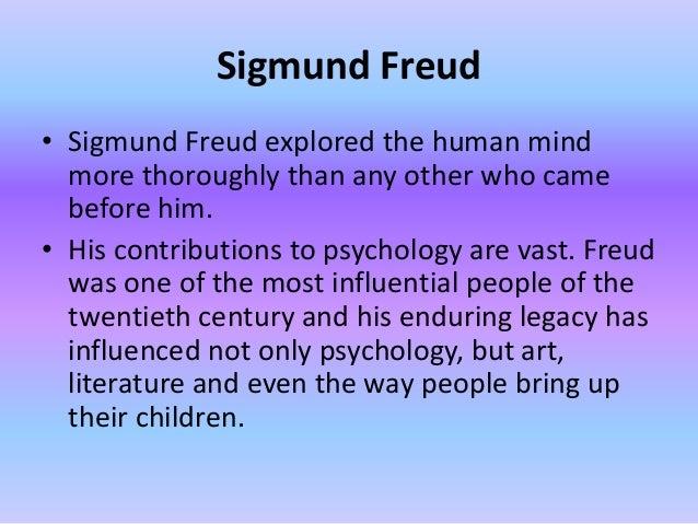 Sigmund freud- psychoanalysis and psychosexual theory