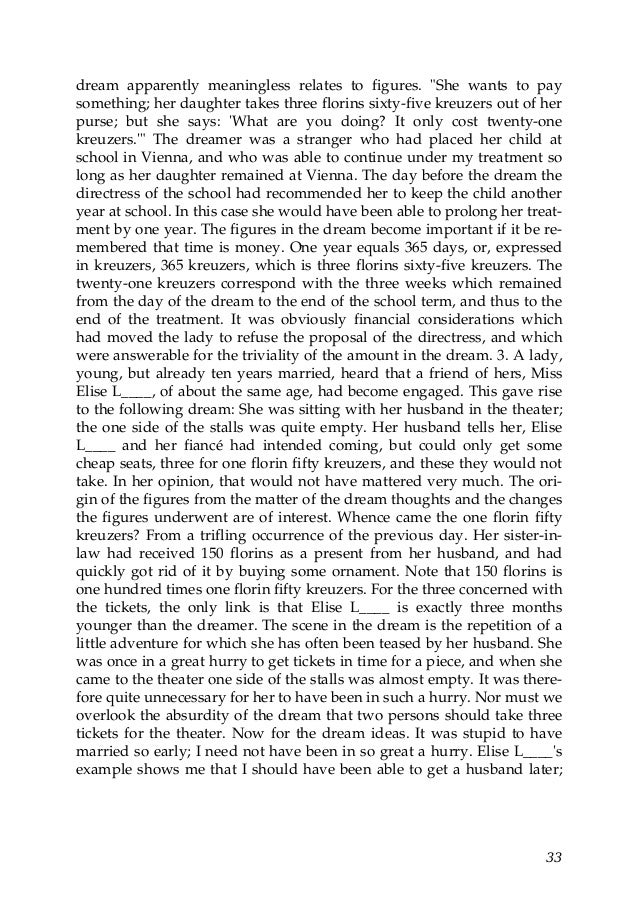 reaction paper on sigmund freud Stumbled upon an essay by sigmund freud called das unheimliche  villain  they've come up with and how the audience has reacted to it.