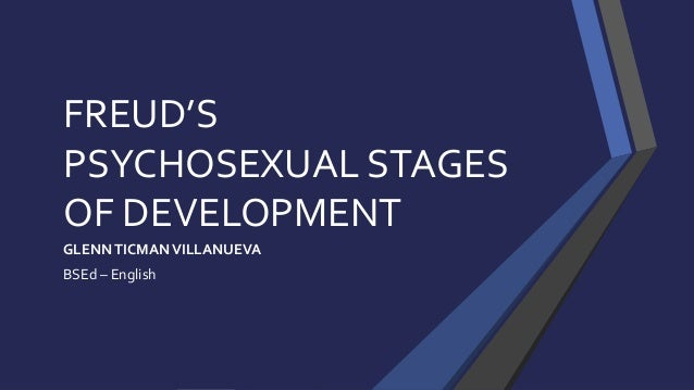 physosexual stages