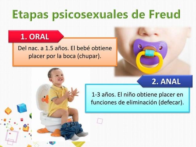 """3 a 5-6 años. Obtiene placer por órganos genitales. • Complejo de Edipo (niño se """"enamora"""" de su madre). • Complejo de Ele..."""