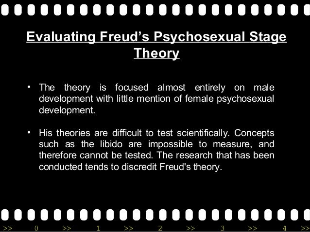 sigmund freud's theory on psychosexual development Sigmund freud (/ f r ɔɪ d / froyd  freud's theory of psychosexual development proposes that, following on from the initial polymorphous perversity of.