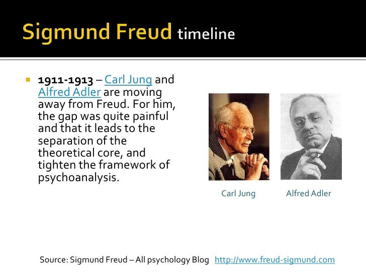 a description of sigmund freud as carl jungs greatest influence Carl jung jung and freud became friends in 1906, after freud had read some of jung's writings and invited him for a meeting in zurich their first conversation was said to have lasted for 13 hours, with the two men exchanging ideas and elaborating on their theories.