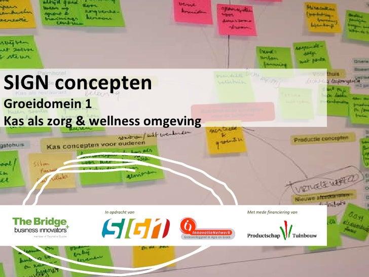 SIGN - baanbrekende concepten voor tuinbouw - groeidomein 1