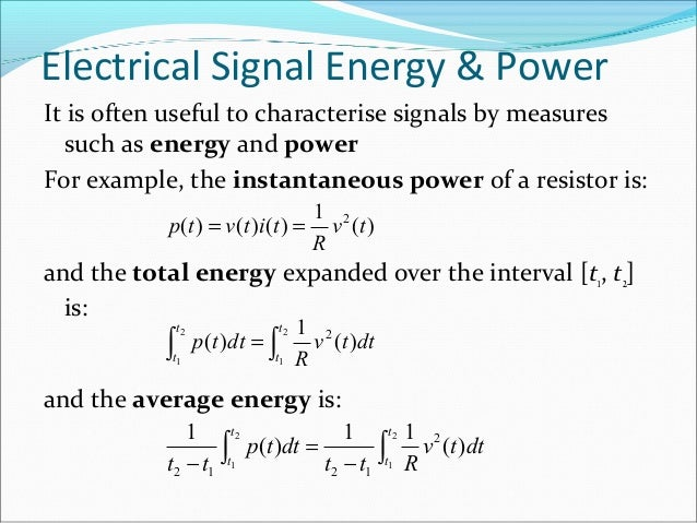 What is the power of the signal cos(m*pi*n) when m is odd and when.