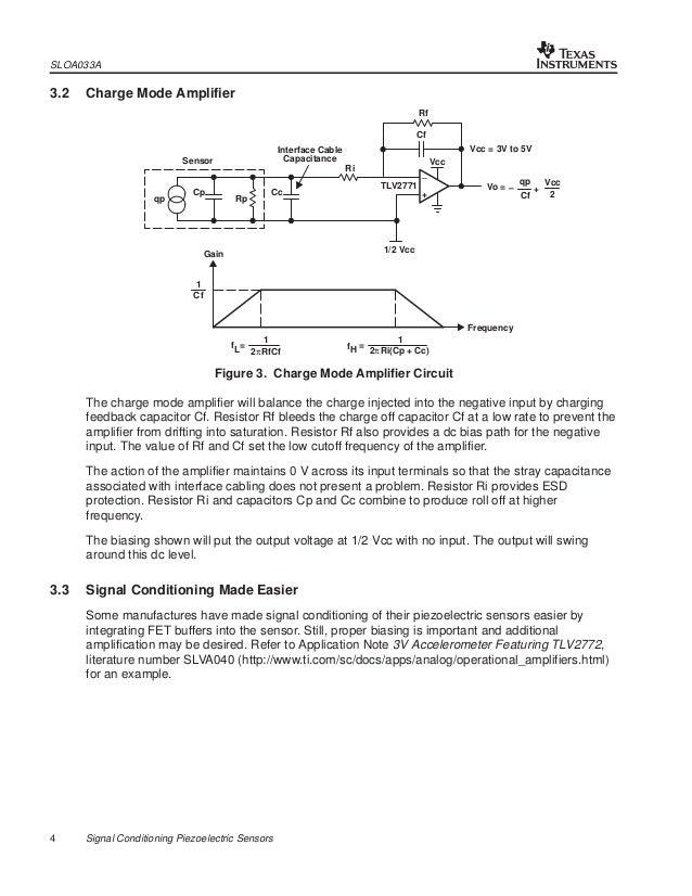 signal conditioning piezoelectric sensors Pressure Sensor Sensor Technology