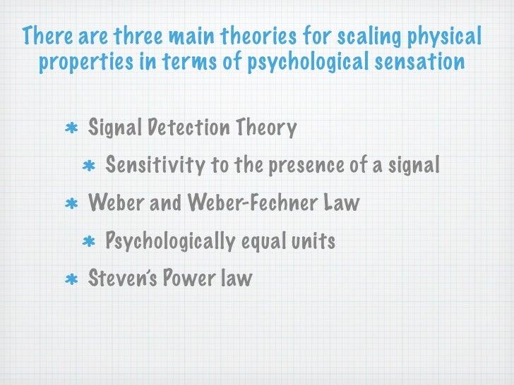 Psychophysics - an overview | ScienceDirect Topics