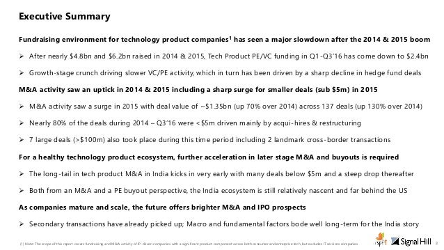 India Technology Product M&A Industry Monitor - An iSPIRT & SignalHill report Slide 2