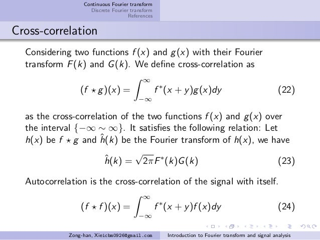 Introduction to Fourier transform and signal analysis