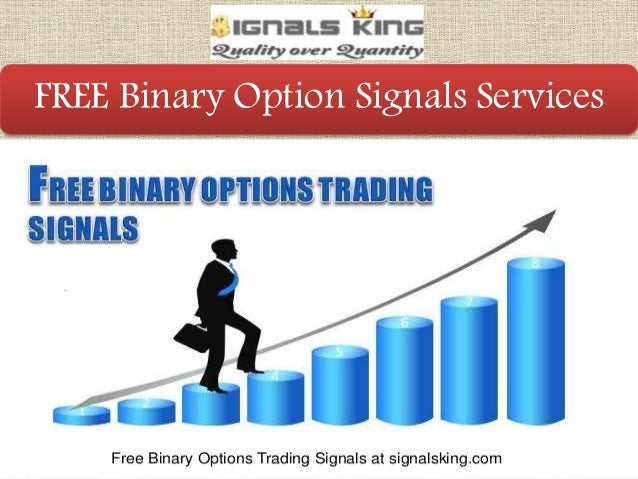 Binary option signals service