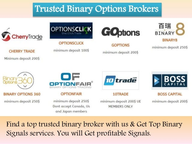 Top binary option signals