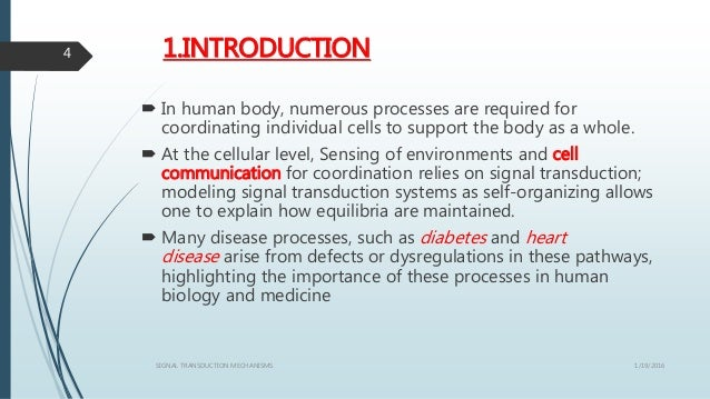 1.INTRODUCTION  In human body, numerous processes are required for coordinating individual cells to support the body as a...