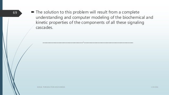  The solution to this problem will result from a complete understanding and computer modeling of the biochemical and kine...