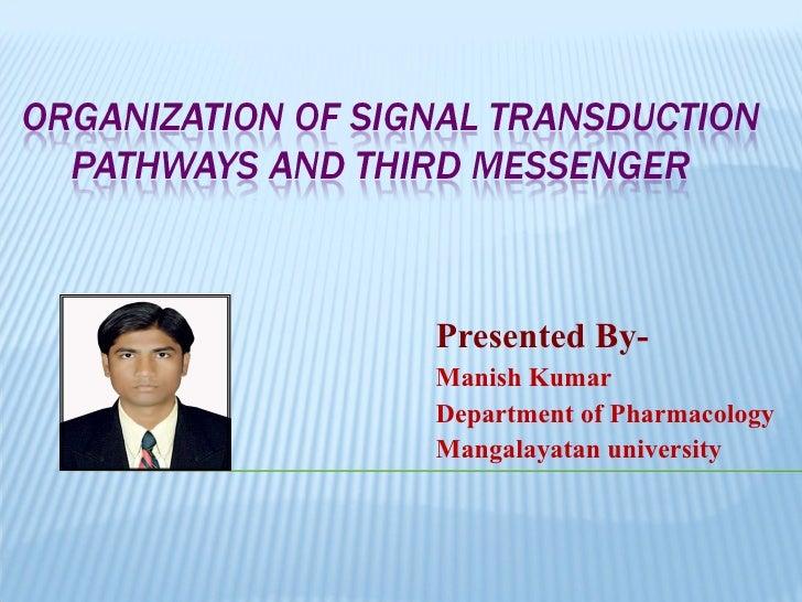 Presented By- Manish Kumar Department of Pharmacology Mangalayatan university