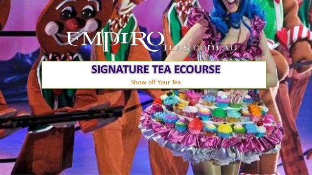 Show off Your TeaSIGNATURE TEA ECOURSE