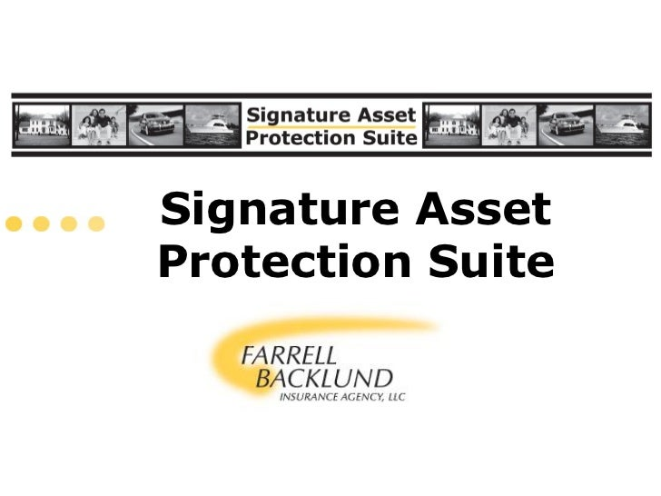 Signature AssetProtection Suite