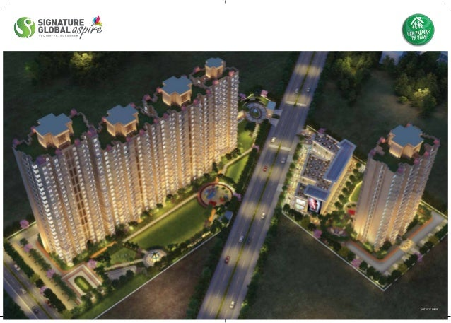 #Signature #Global #Aspire #Sector95 #Gurgaon #2bhk #flats #affordablehousing