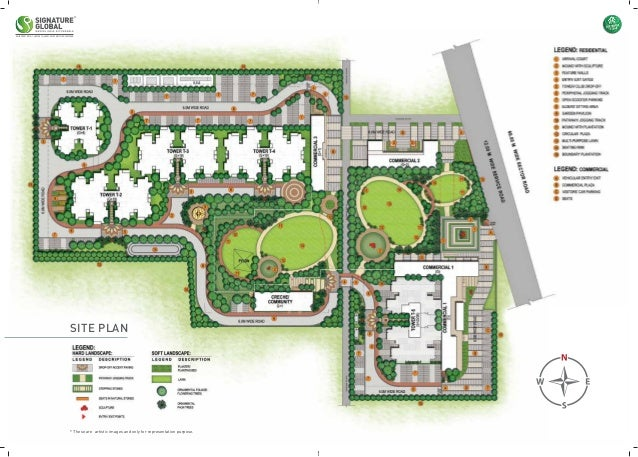 signature global proxima 1 site plan