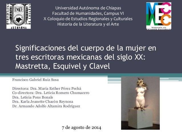Universidad Autónoma de Chiapas  Facultad de Humanidades, Campus VI  X Coloquio de Estudios Regionales y Culturales  Histo...