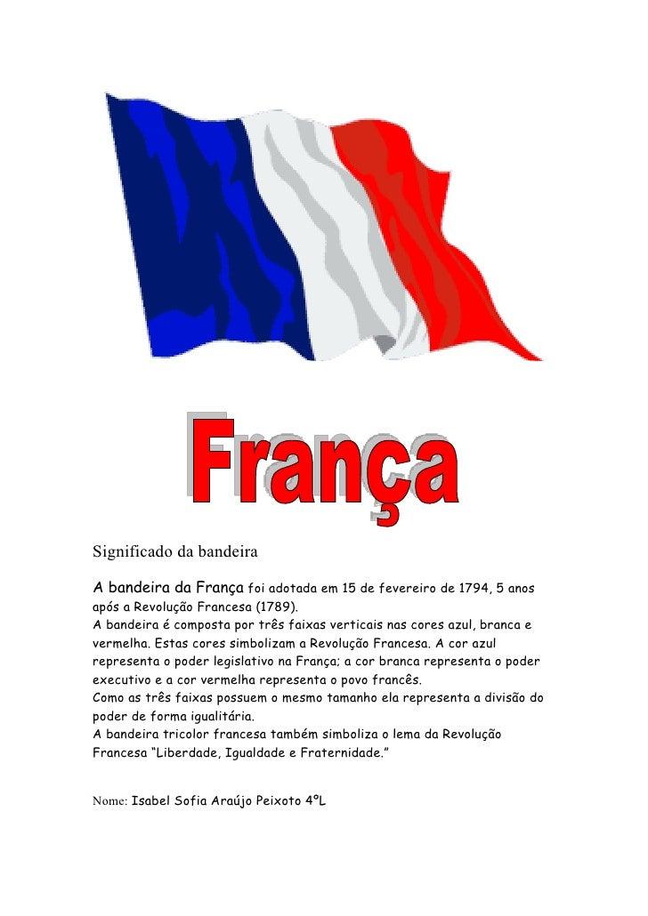 Populares Significado da bandeira francesa HI82