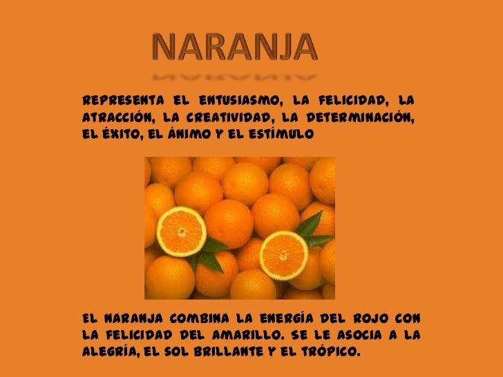Significado de colores - Como conseguir color naranja ...