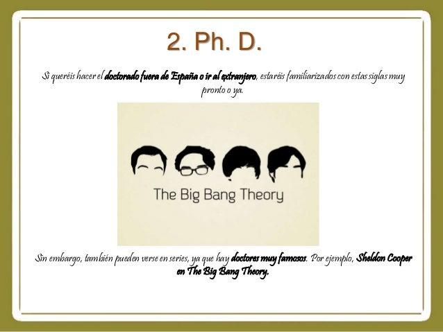 Significado de las siglas m d y ph d for Fuera de quicio significado