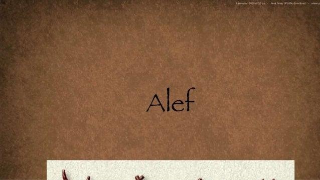 Significado profundo de la alef