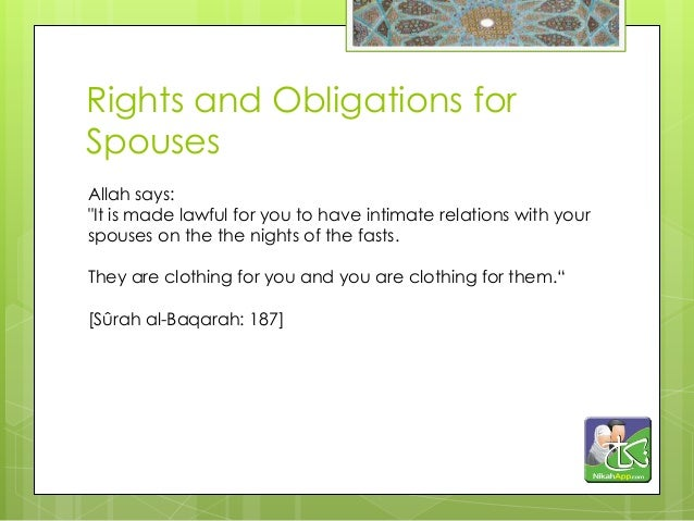 Significance & Obligations Regarding Nikah in Islam
