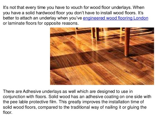 Significance Of Acoustic Underlay Wood Floor In Your Flooring