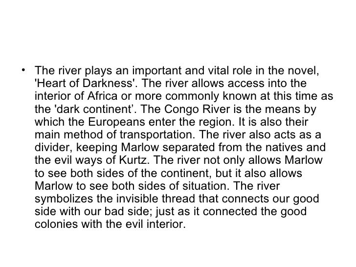 What would be a good thesis statement for Heart of Darkness?
