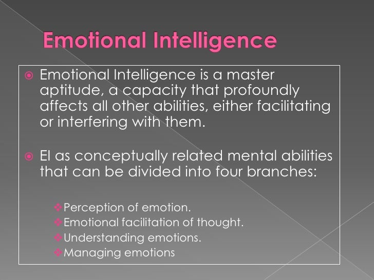 The importance of emotional intelligence in the workplace