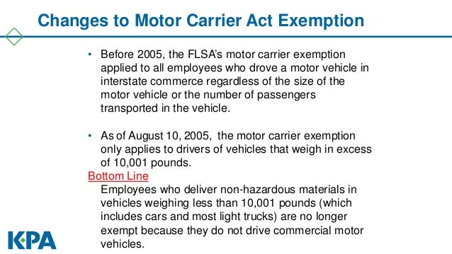Commercial vehicle drivers hours of service regulations for The federal motor vehicle safety standards are written