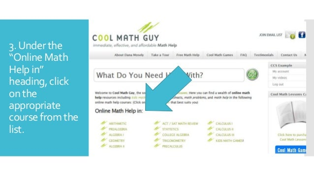 Ccs signing up for cool math guy videos 6 3 publicscrutiny Image collections