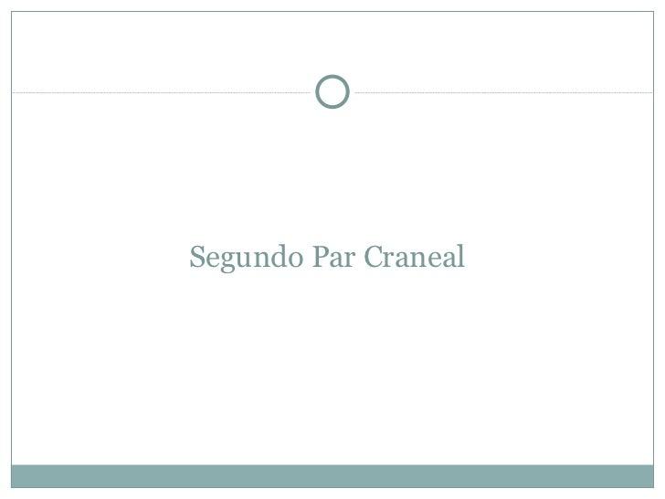 Segundo Par Craneal
