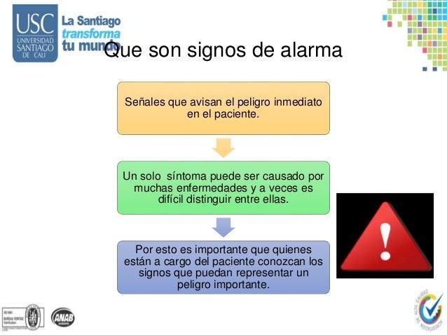 Signos vitales y signos de alarma respiratorios
