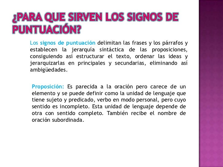 Signos de puntuacion Slide 2