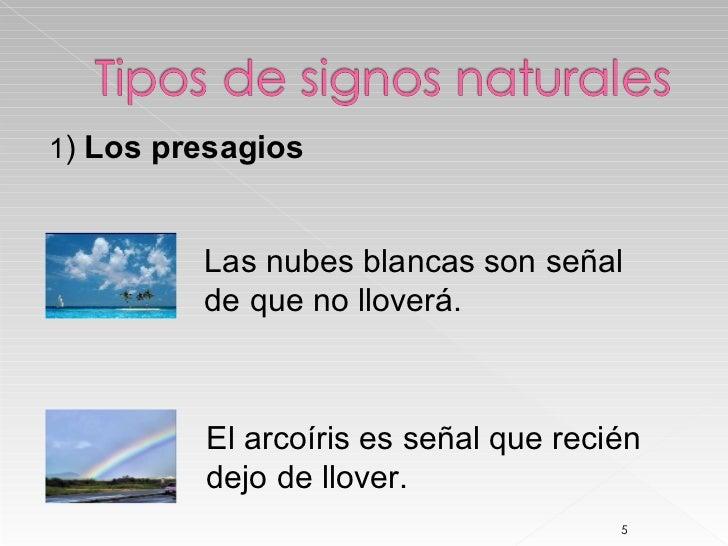 Signos Naturales Y Convencionales