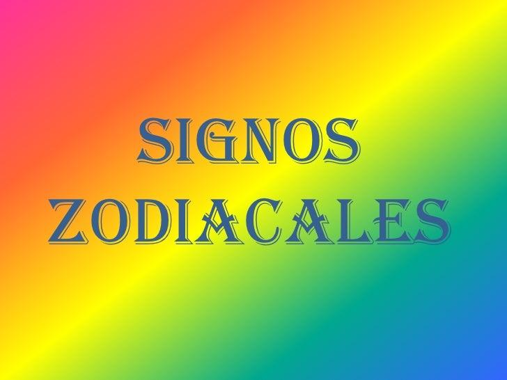 Signoszodiacales