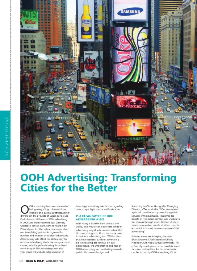 Less Clutter As Joburg Plans To Reduce Outdoor Ads