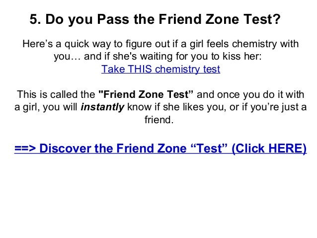 Test to tell if a girl likes you