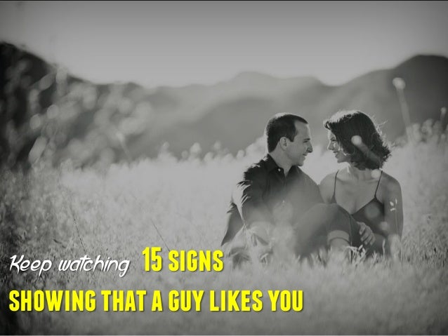 Body Language If A Guy Likes You
